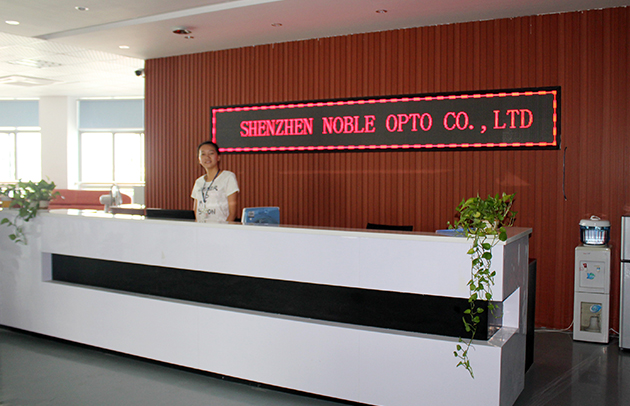 SHENZHEN NOBLE OPTO CO., LTD