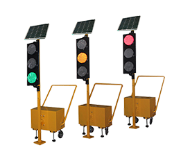 LED portable traffic signal light