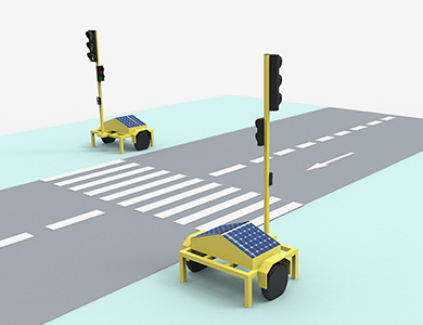 Portable traffic solution