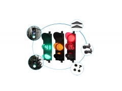 300mm traffic light series - NBJD312-2 + DJS321-RG