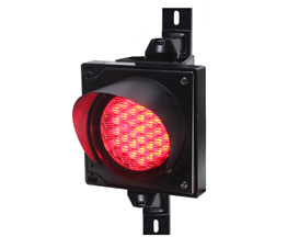 4inch led traffic light red color