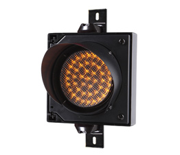 100mm cobweb lens traffic light