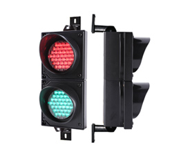 4inch red green traffic light
