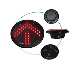 Intelligent traffic lights module