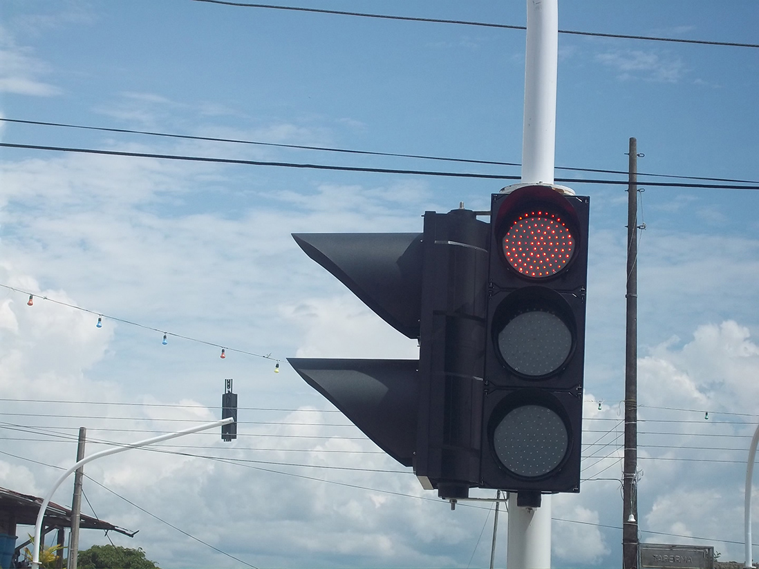 led traffic light for sales